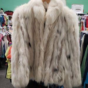 Finland fox fur